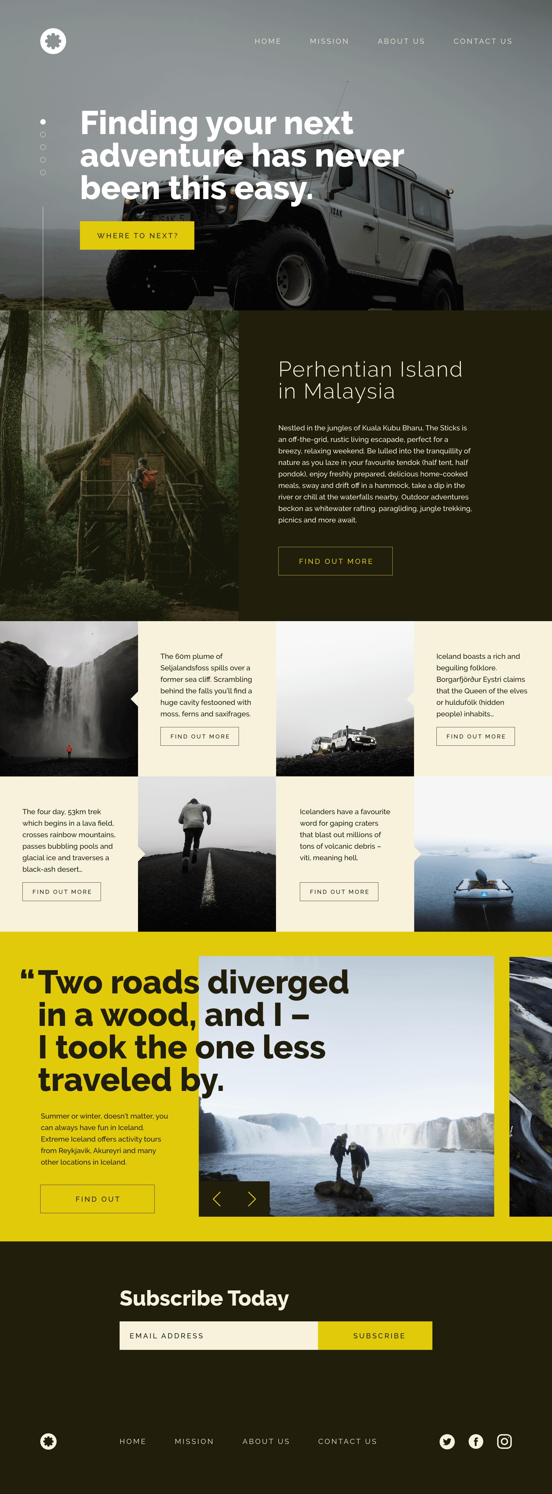 Greats Homepage